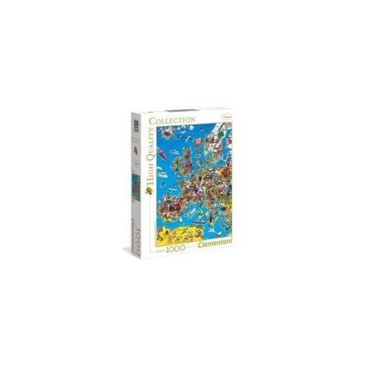 Puzzle 1000 Mapa Europy