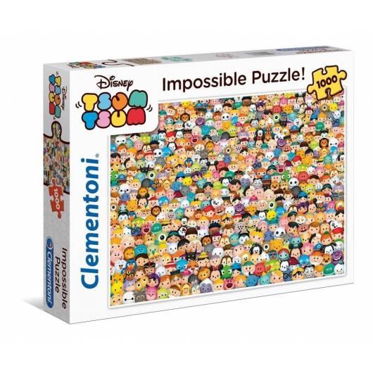 Puzzle 1000 el. Impossible Puzzle! Tsum Tsum