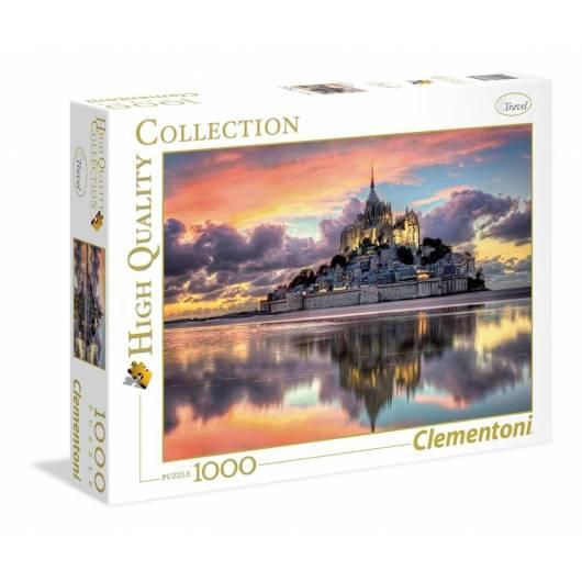 Puzzle 1000 el. HQ Le Magnifique Mont Saint-Miche
