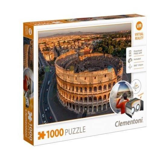 Puzzle 1000 Virtual Reality Rome