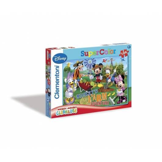 Puzzle 104 Klub Przyjaciół Myszki Miki 2
