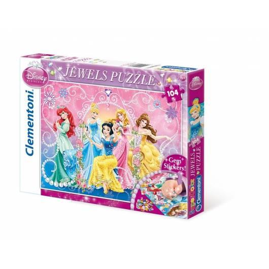 Puzzle 104 Księżniczki Ozdoby 3