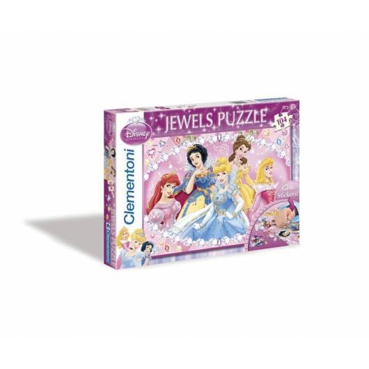 Puzzle 104 Księżniczki Ozdoby 4