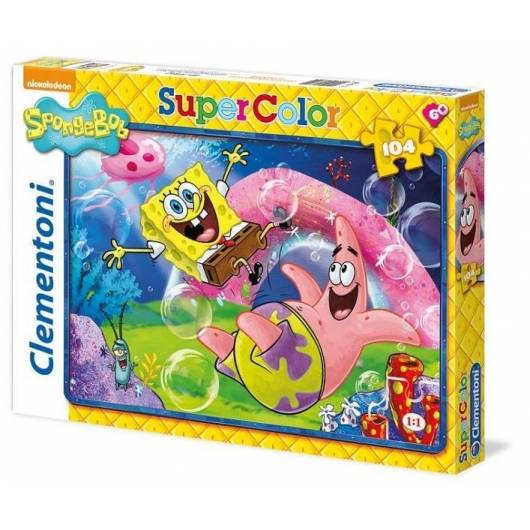 Puzzle 104 Sponge Bob