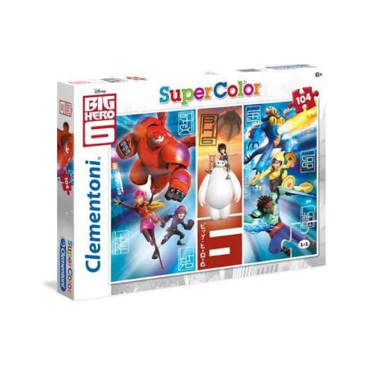 Puzzle 104 Big Hero 6