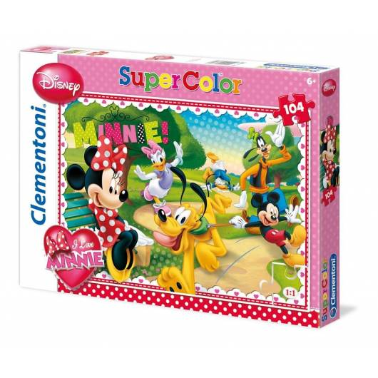 Puzzle 104 I love Minnie