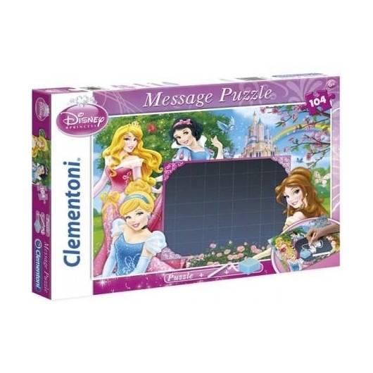 Puzzle 104 Message Księżniczki