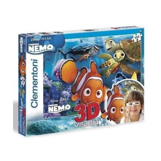 Puzzle 104 3D Vision Nemo
