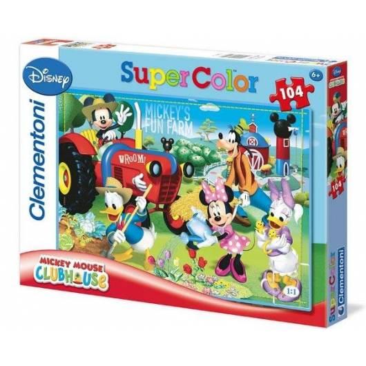 Puzzle 104 Klub Przyjaciół Myszki Mickey