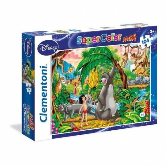 Puzzle 104 Maxi Księga Dżungli