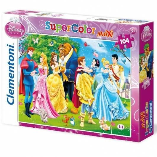 Puzzle 104 Maxi Księżniczki