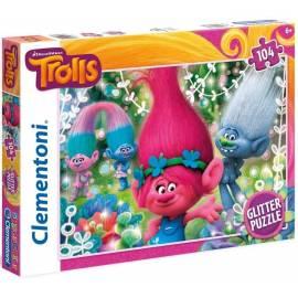 Puzzle 104 Brokat Trolls