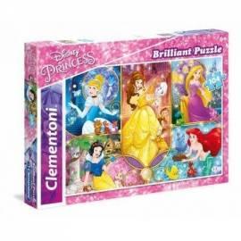 Puzzle 104 Brilliant Księżniczki 2