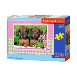 Puzzle 120 Dachshund Puppies CASTOR