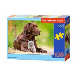 Puzzle 120 Big a little CASTOR