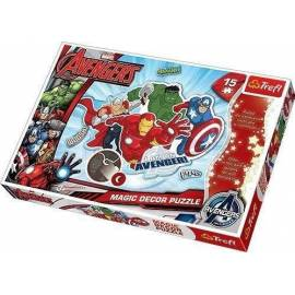 Puzzle Magic Decor 15 Marvel Avengers TREFL