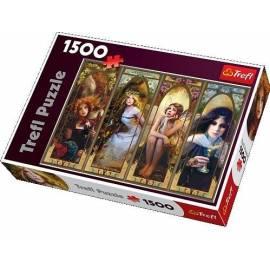 Puzzle 1500 Fantasy kolaż TREFL