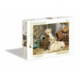 Puzzle 1500 HQ Hunting Dogs