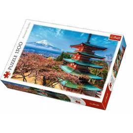 Puzzle 1500 Góra Fudżi TREFL