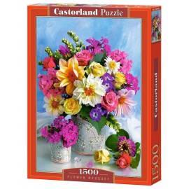 Puzzle 1500 Bukiet kwiatów CASTOR