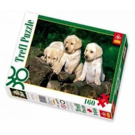 Puzzle 160 Małe labradory TREFL