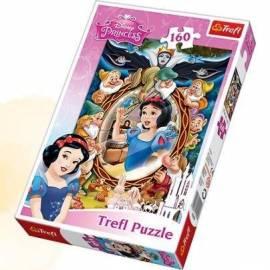 Puzzle 160 Królewna Śnieżka - kolaż TREFL