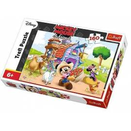 Puzzle 160 Farmer Miki TREFL