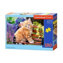 Puzzle 180 Imbirowy kotek CASTOR