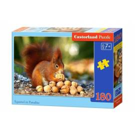 Puzzle 180 Squirrel in Paradise CASTOR