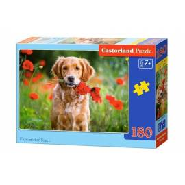 Puzzle 180 Flowers for You CASTOR