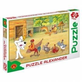 Puzzle 20 - MAXI Reksio - kradzież ALEX