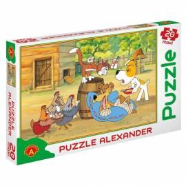 Puzzle 20 - MAXI Reksio rekonwalescent ALEX
