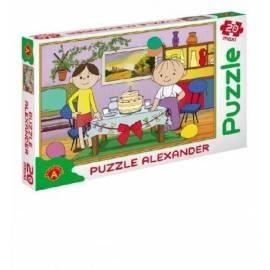 Puzzle 20 - MAXI Bolek i Lolek. Tort ALEX