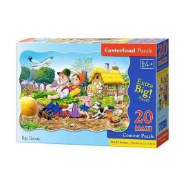 Puzzle 20 maxi Duża Rzepka CASTOR