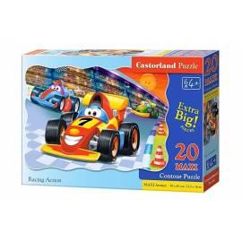 Puzzle 20 maxi Racing action CASTOR