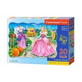 Puzzle 20 maxi - Kopciuszek CASTOR