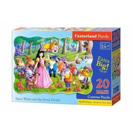 Puzzle 20 maxi - Królewna Śnieżka CASTOR