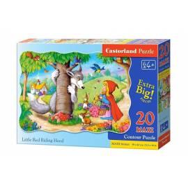 Puzzle 20 maxi - Czerwony Kapturek CASTOR