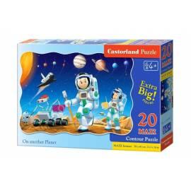 Puzzle 20 maxi - Na innej planecie CASTOR