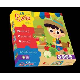 Puzzle 20 Owoce i Warzywa