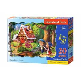 Puzzle 20 maxi - Hansel and Gretel CASTOR