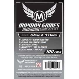 MAYDAY Koszulki Magnum Silver (70x110mm) 100