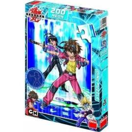 Puzzle 200 Bakugan Dan and Shun Neon DINO