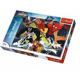 Puzzle 200 Wielkie Starcie - Spiderman TREFL