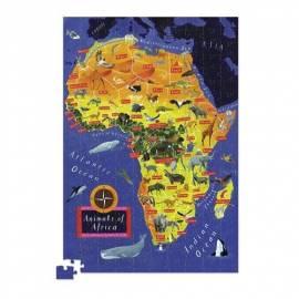 Puzzle 200 el. - Mapa Afryki