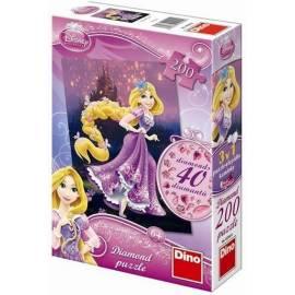 Puzzle 200 Diamond Roszpunka DINO