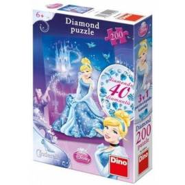Puzzle 200 Diamond Kopciuszek DINO