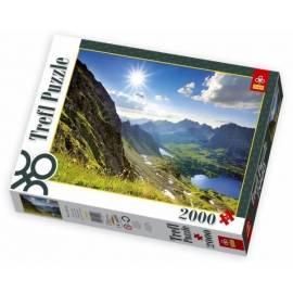 Puzzle 2000 Dolina Pięciu Stawów, Tatry TREFL