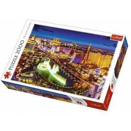 Puzzle 2000 - Las Vegas nocą TREFL