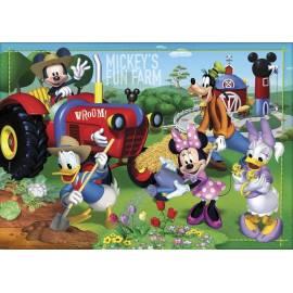 Puzzle 24 Maxi Klub Przyjaciół Myszki Mickey